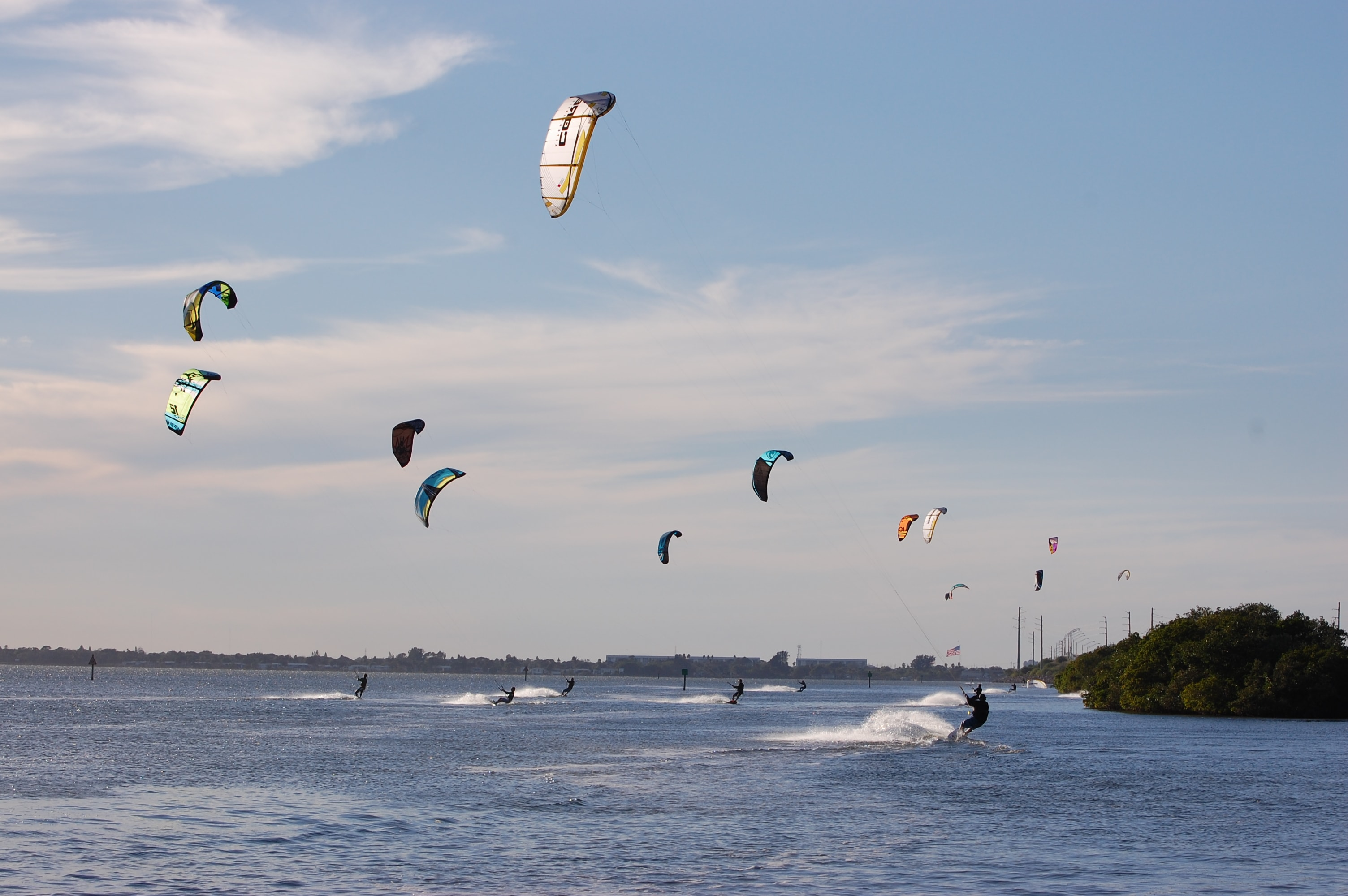 Kiteboarding Lessons Instruction Cles And Courses In Cocoa Beach