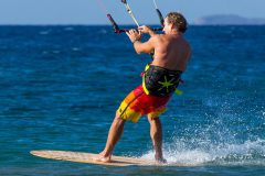 Directional kiteboard