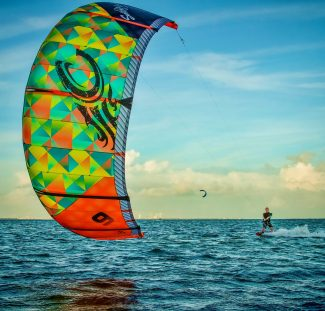 305kitesurf Miami big kite shot 2