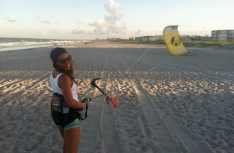 kiteboarding cocoa beach