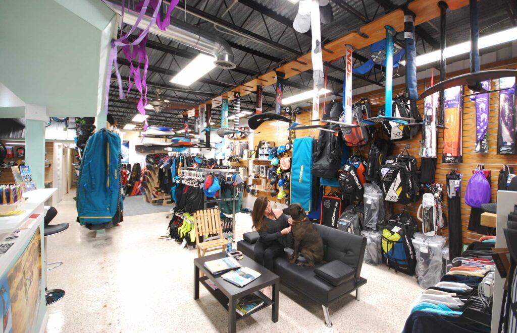 kite shop, kitesurf store
