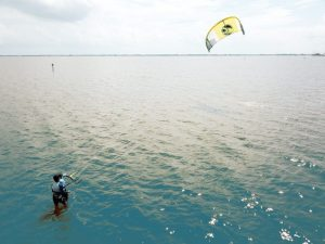 kiteboarding lessons at the slick in cocoa beach